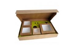 Lunch box brune et Insert kray