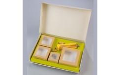 Lunch box blanche et Insert kray