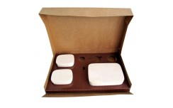 Lunch box brune et Insert Saga