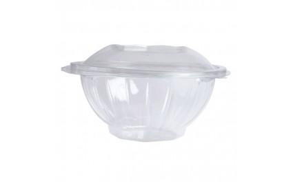 Saladier rond transparent 1000 ml