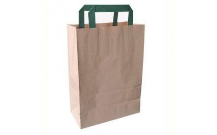 Mini sac cabas kraft biodégradable