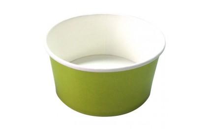 Saladier carton vert 900 ml