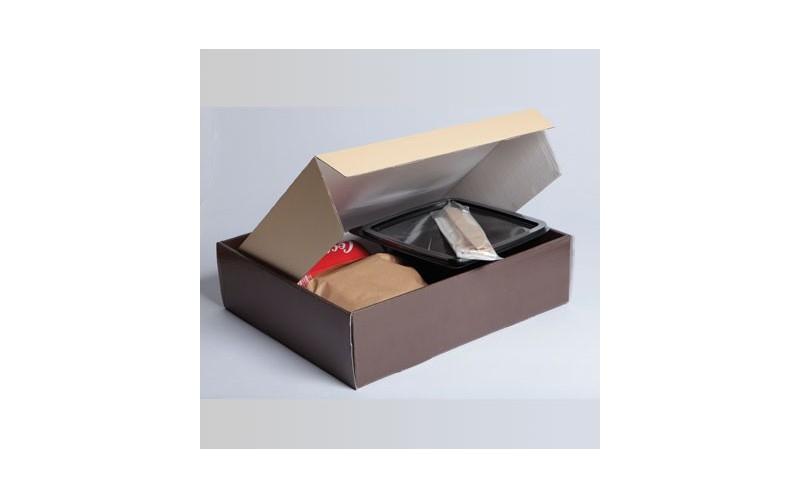 lunch box coffret carton pour repas traiteur en livraison lors d 39 un plateau repas au bureau. Black Bedroom Furniture Sets. Home Design Ideas