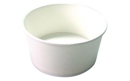 Saladier carton blanc 590ml