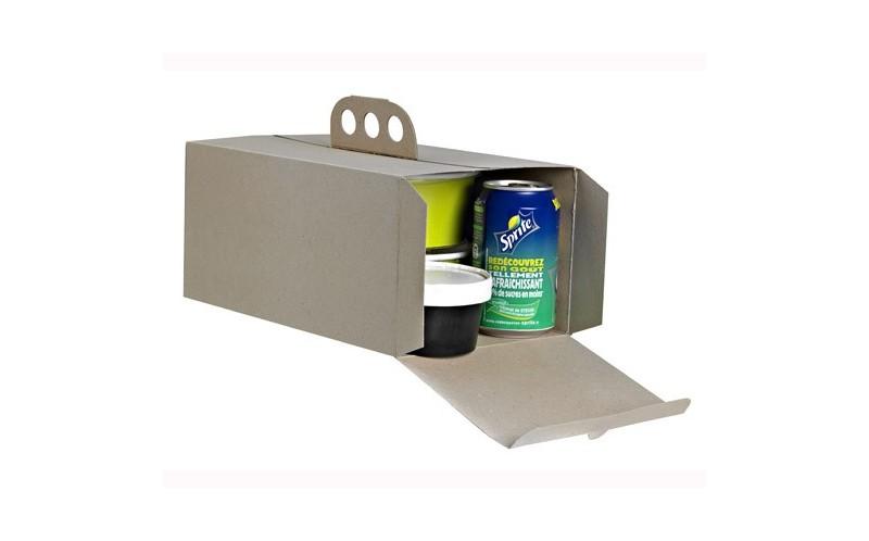 bo te emporter pour traiteur ou livreur de plat chaud et froid avec poign e coup de poing. Black Bedroom Furniture Sets. Home Design Ideas