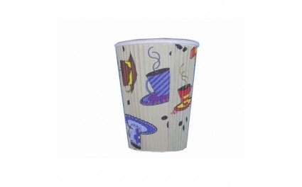 Gobelet carton Teacup 35cl