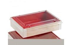 Boîte intérieur rouge 12x16cm