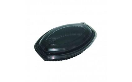 Cassolette ovale noire 500ml