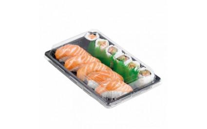 Barquette sushi plastique