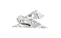 Cône papier impression journal 150g