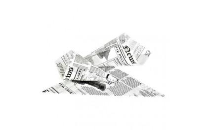 Cône papier impression journal 650g