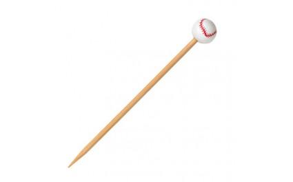 Pique bambou baseball