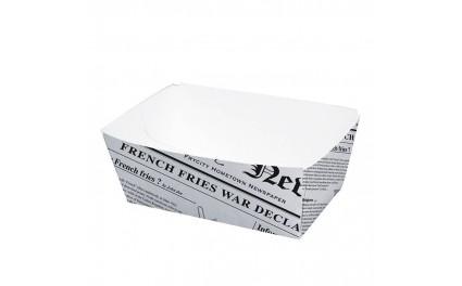 Barquette carton imprimé 250 grammes