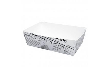 Barquette carton imprimé 850 grammes