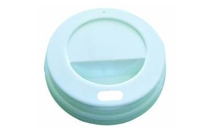 Couvercle dôme blanc pour 10 cl