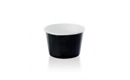 Pot en carton noir 90 ml