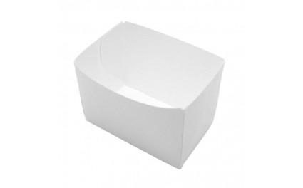 Barquette carton blanc 440 ml