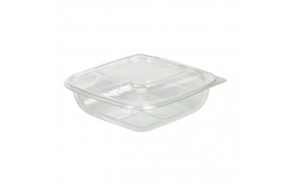 Saladier carré transparent 1000 ml