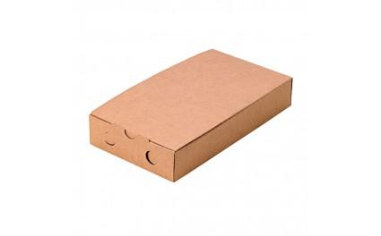 Boîte en carton kraft Brushetta