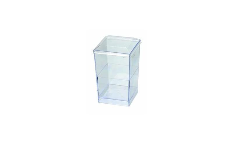 verrine quadra verrine jetable en plastique ou bois ou bambou pour cocktail ou buffet. Black Bedroom Furniture Sets. Home Design Ideas
