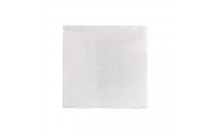 Serviette micropoint blanc 38 cm
