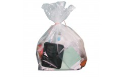 Grand sac poubelle 160L transparent