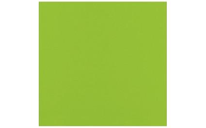 Serviette micro points 2 plis vert citron 38x38cm