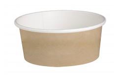 "Pot ""Deli"" rond en carton kraft de contenance 532 ml x 50 unités"