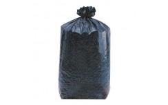 Sac poubelle noir de contenance 160000 ml x 100 unités