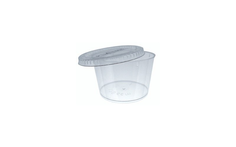 Verrine bodega 170 ml verrine jetable en plastique ou bois ou bambou pour coc - Verrines en plastique casa ...