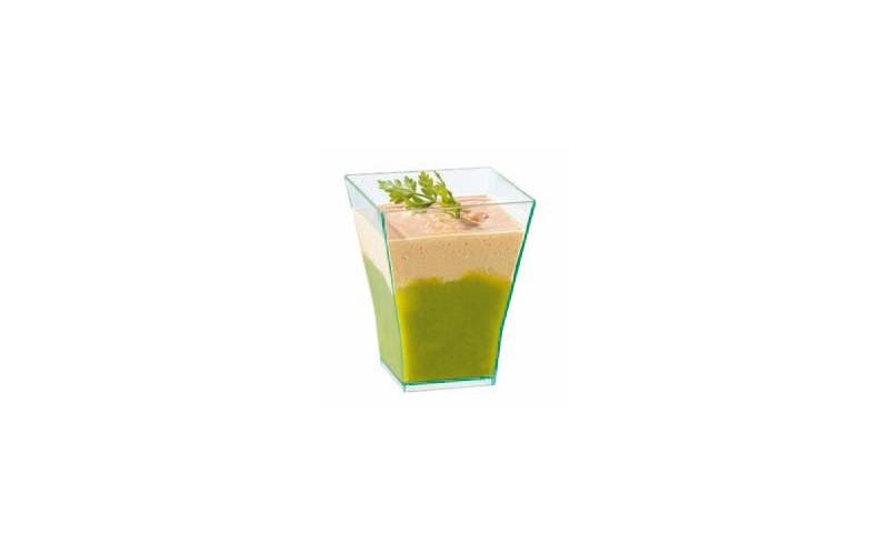 verrine taiti transparente verrine jetable en plastique ou bois ou bambou pour cocktail ou buffet. Black Bedroom Furniture Sets. Home Design Ideas