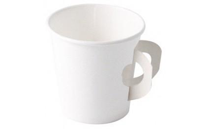 Gobelet carton blanc 10 cl anse
