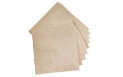 Serviette papier écrue 1 pli x 400 unités