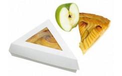 Boite pâtissière triangulaire