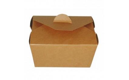 Boîte repas brun 13x10x6cm