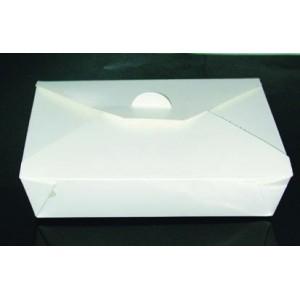 bo te repas blanc 21 x 16 x 5 cm panier et boite repas jetable en plastique ou carton pour. Black Bedroom Furniture Sets. Home Design Ideas