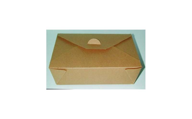 bo te repas brune 21 x 16 x 5 cm panier et boite repas jetable en plastique ou carton pour. Black Bedroom Furniture Sets. Home Design Ideas
