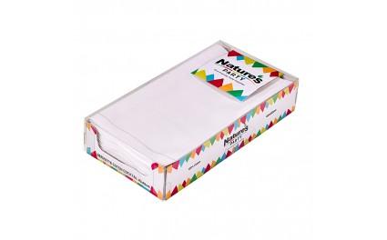 Serviette coton blanc x 10 unités