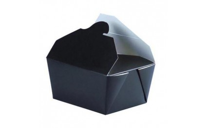 bo te repas en carton de la gamme noire emballage pour micro onde. Black Bedroom Furniture Sets. Home Design Ideas