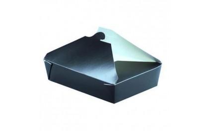 bo te repas en carton 1500ml de la gamme noire emballage pour micro onde. Black Bedroom Furniture Sets. Home Design Ideas