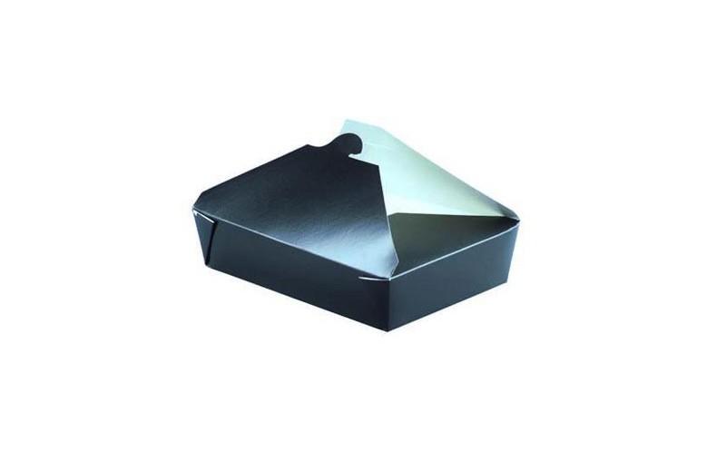 bo te repas en carton 2300ml de la gamme noire emballage pour micro onde. Black Bedroom Furniture Sets. Home Design Ideas