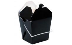Boîte carrée noire 750 ml