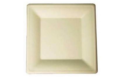 Assiette pulpe carrée 26cm