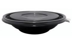 Saladier rond noir 750 ml