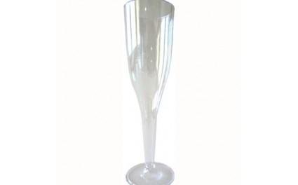 Fl te champagne et coupe jetable en plastique pais de notre vaisselle jetable de luxe pour - Coupe champagne plastique ...