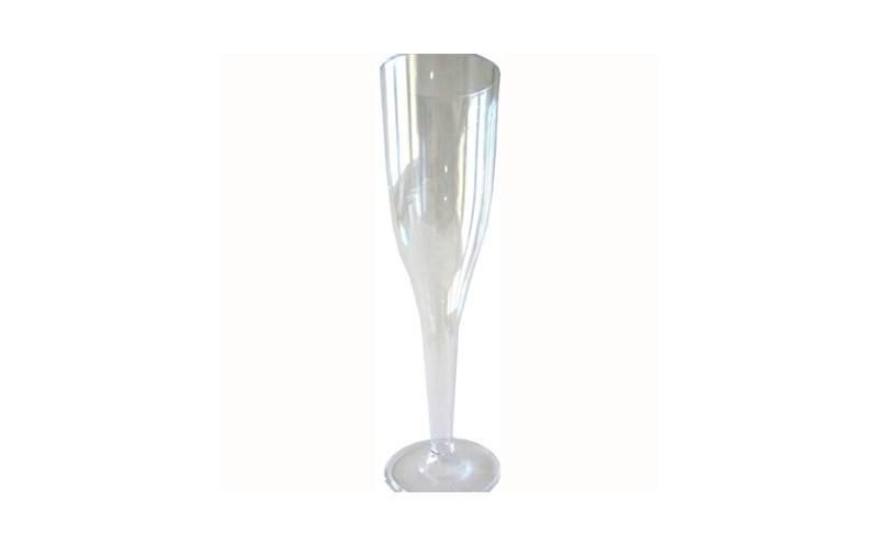 fl te champagne et coupe jetable en plastique pais de notre vaisselle jetable de luxe pour. Black Bedroom Furniture Sets. Home Design Ideas