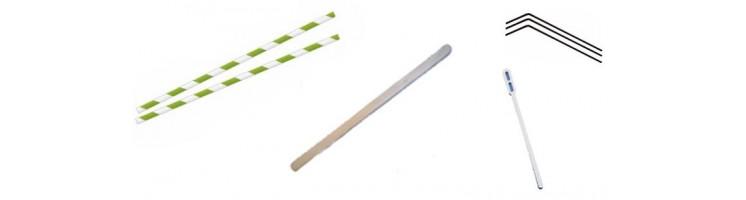 Paille et spatule