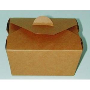 Boîte repas brun 13x10x6 cm